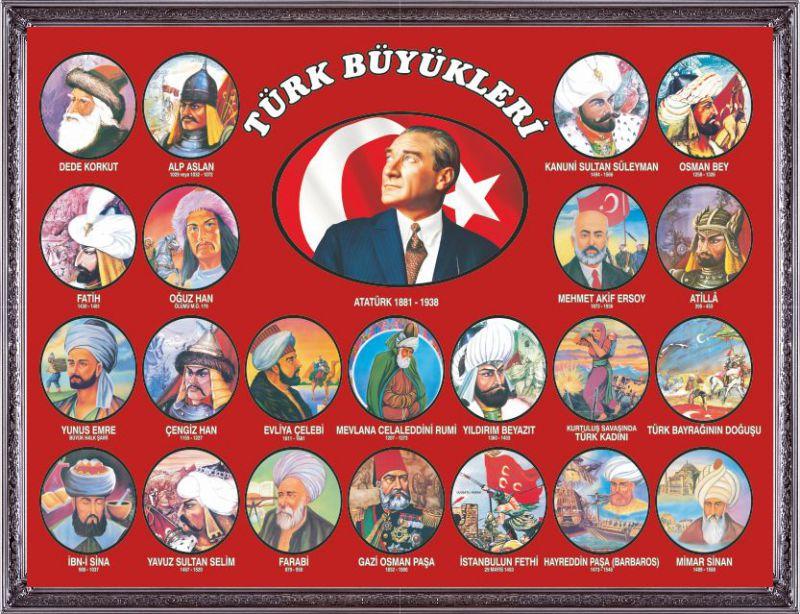 Türk Büyükleri Hayatları Kısaca